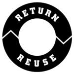 RETURN REUSE Logo_Black & White